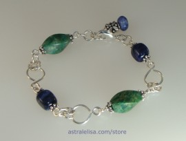 Grounding new perspectives bracelet