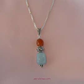 Creative Mind Creative Action pendant with chain