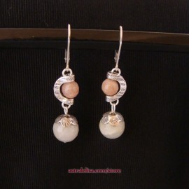 In tune with the Moon earrings