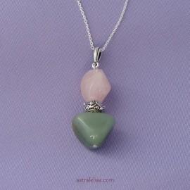 Love anchor pendant