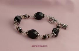 Sparkly Self-mastery bracelet