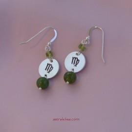 Virgo Purification earrings